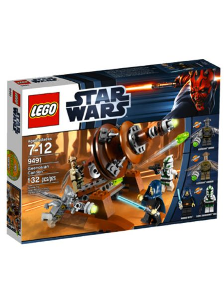 LEGO ~ STAR WARS Geonosian Cannon with 4 Mini Figs #9491~ NEW ~ GIN Option Available