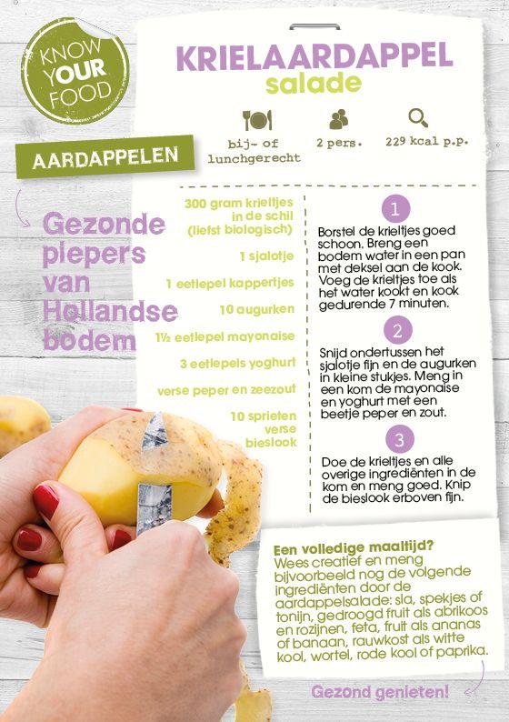 Krielaardappel-salade