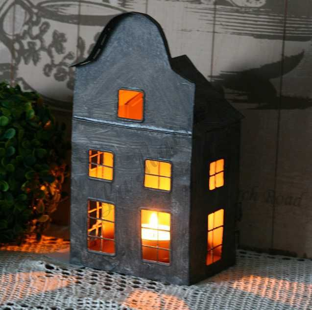 *LaMaison* Lampion Domek z oknami 2 Retro Vintage (4852522312) - Allegro.pl - Więcej niż aukcje.
