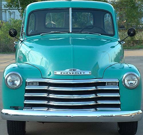1953 chevy truck -- Curated by Towright Towing & Transport | PO Box 27052 Willow Park PO,  Kelowna, BC, Canada V1X 7L7 | (250) 979-8093