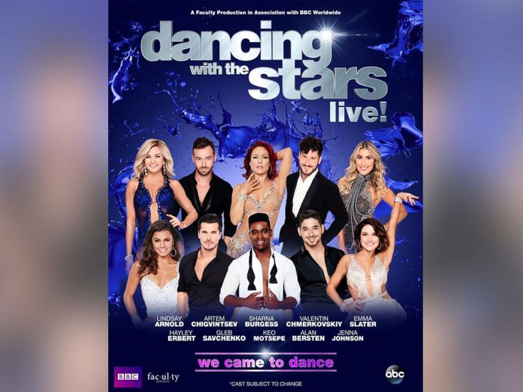 Find out if Dancing With the Starts Live! is coming to your town!