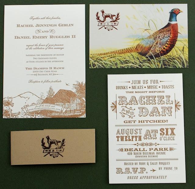 Hidalgo invitations wedding