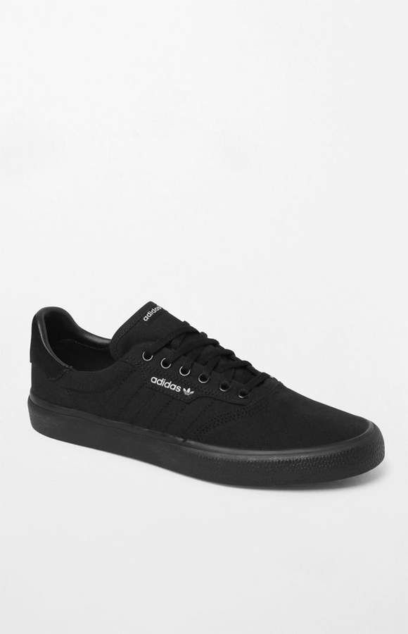 adidas 3MC Vulc Black Shoes | Black adidas shoes, Shoes ...
