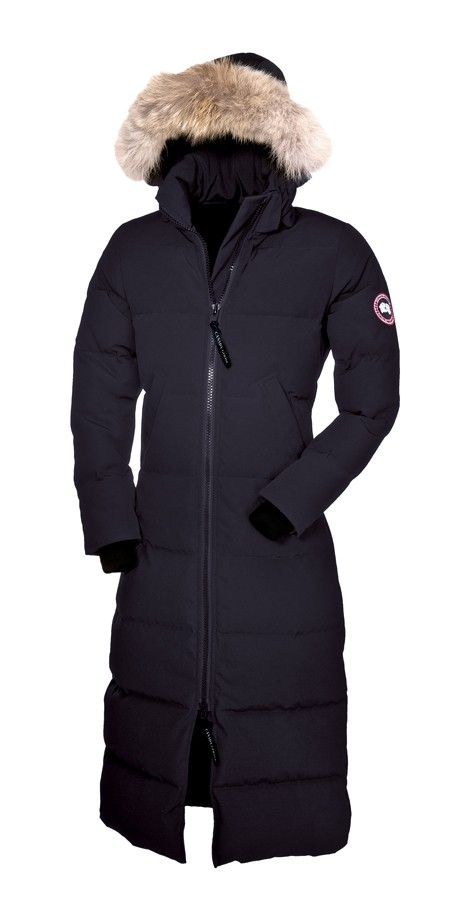 canada goose full length down coat