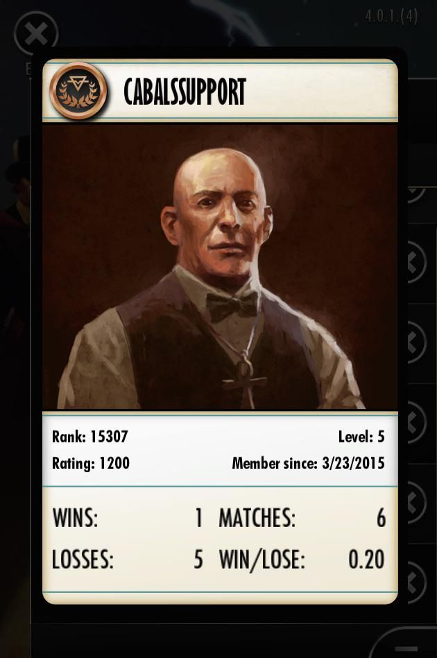 Player profile cards in #Cabals 4.0! You can message CabalsSupport in game now too!   Have a look at our post from#screenshotsunday Embedded image permalink