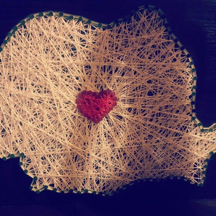 Romanian map string art https://aexdiy.blogspot.ro/search/label/DIY?m=1