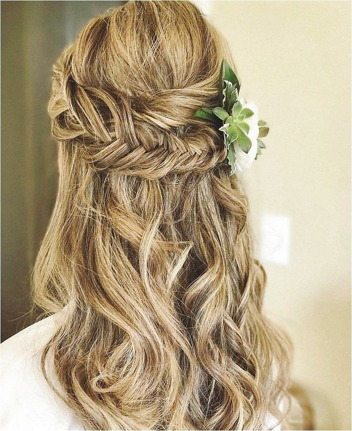Half up half down wedding hairstyles,partial updo bridal hairstyles - a great options for the modern bride from flowy bohemian to clean contemporary -...