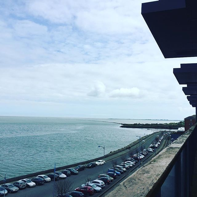 Stunning views of the River Slaney from our balconies @talbotsuites. #talbotsuites #Seaview #views #Wexford #visitwexford #town #rosslare #sea #view #stunning sunny #southeast #ireland #irish #holidays #talbot #quay #discoverireland