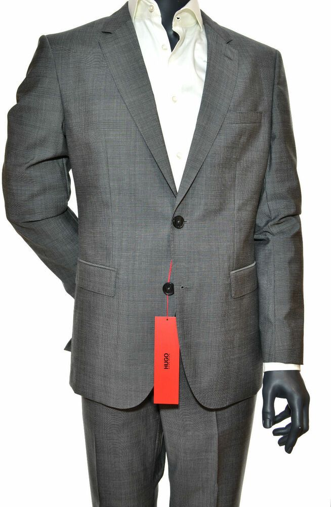 3430fba7a eBay #Sponsored HUGO BOSS HUGO SUIT c-jeffery/c-simmons TG. 52 REG. COOL  WOOL ART. 50309869