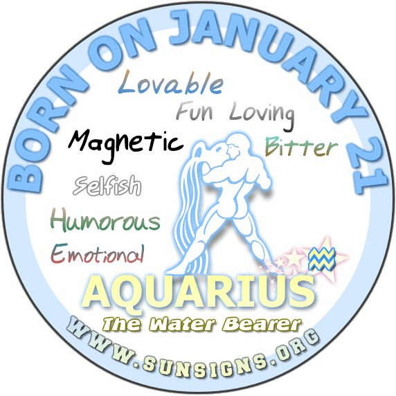 January 21 - Aquarius Birthday Horoscope Personality & Analysis » Sun Signs