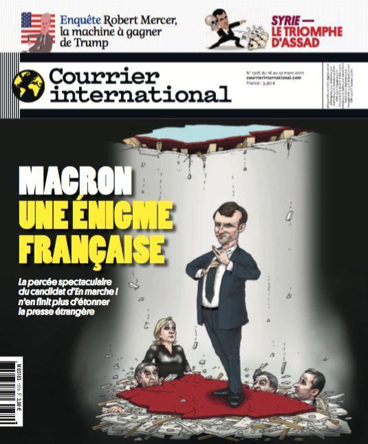 Courrier international N° 1376 - 16 mars 2017