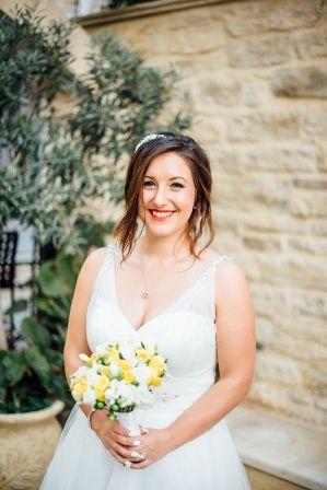 JOANNA bridal bouquet by Moments www.weddingincrete.com