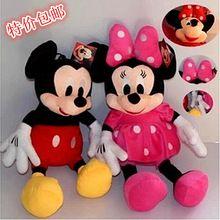 28cm Minnie i Mickey Mouse niska cena Super Plush Doll Wypchane zwierzęta pluszowe zabawki dla dzieci na prezent (Chiny (kontynentalne))