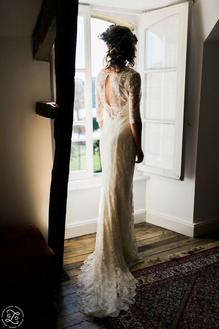 Jeanne Lannurien - Créatrice de robes de mariée | Crédits: Gauthier Le Guen- Elodie Struillou coiffeuse maquilleuse-modele: Lucie d'Agosto #Mariage #RobesDeMariee #WeddingDresses #Wedding #mariage #Brides #bride #mariee #FutureMariee #boheme #MariageBoheme #bridal #Mariage #Boheme #Bretagne #CreatriceDeRobesDeMariee #jeannelannurien
