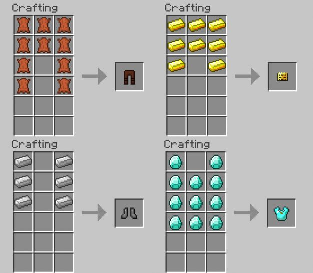 armorrecipes