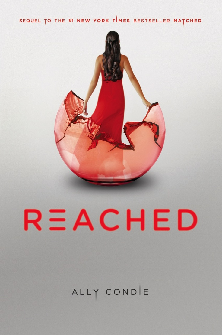 Reached - Ally Condie...have on hold @ Library...so what if I'm in my 20s & still read YA books?