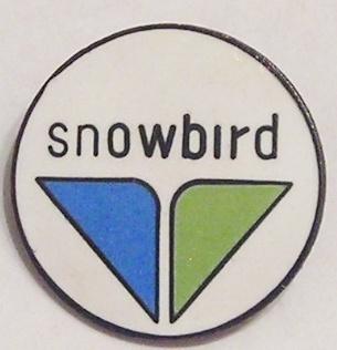 Ski Pin SNOWBIRD Snow Ski Resort Pin Pinback Salt Lake City Utah Lapel Hat Pin