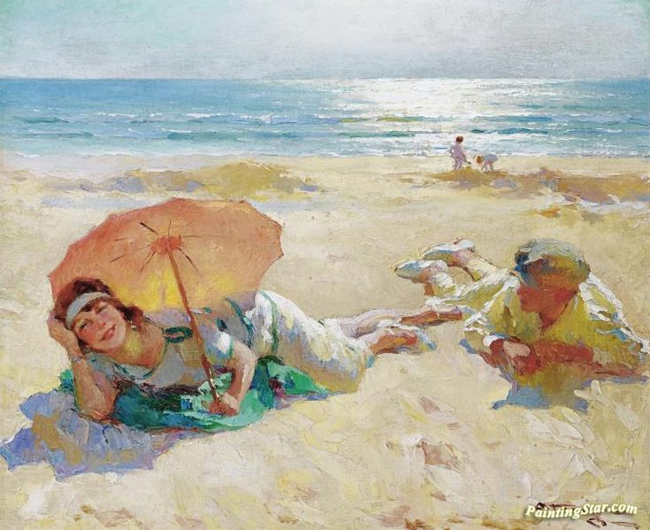 Sunshine Artwork by Charles Atamian Hand-painted and Art Prints on canvas for sale,you can custom the size and frame