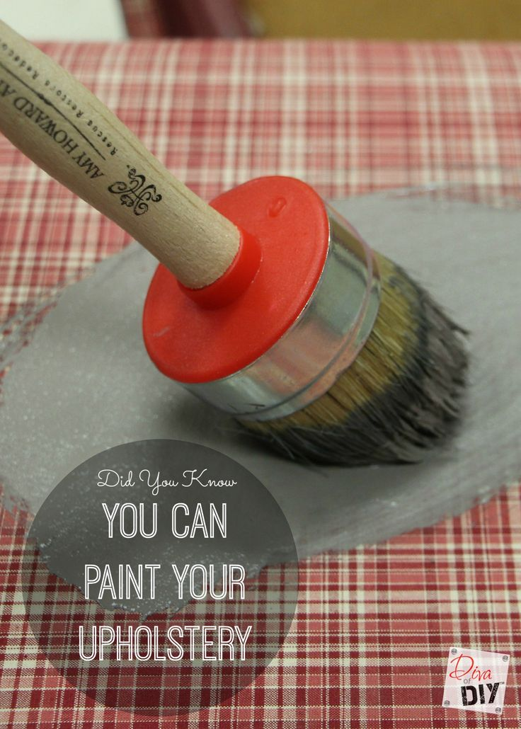 You can update the look of your home with ease when you paint upholstery. With some chalk paint for the seat and spray paint for the base it's a new chair!
