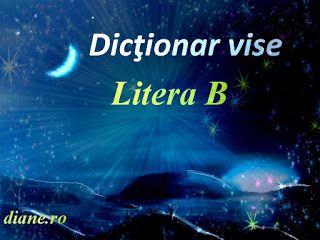 Dicţionar vise - Litera B (1) | Semnificaţia şi interpretarea viselor