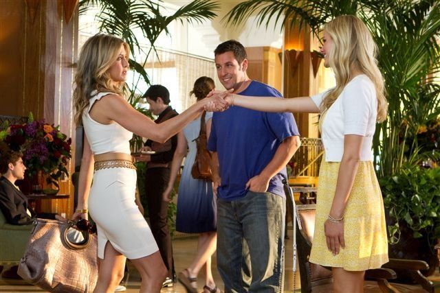 Still of Jennifer Aniston, Adam Sandler and Brooklyn Decker in Just Go with It