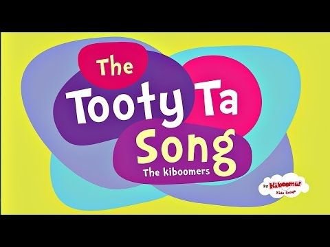A Tooty Ta Song with Lyrics on Screen | Tooty Ta Dance for Kids | Preschool Songs With Actions - YouTube