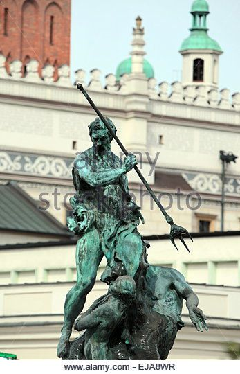 EUROPE POLAND POZNAN - Stock Image