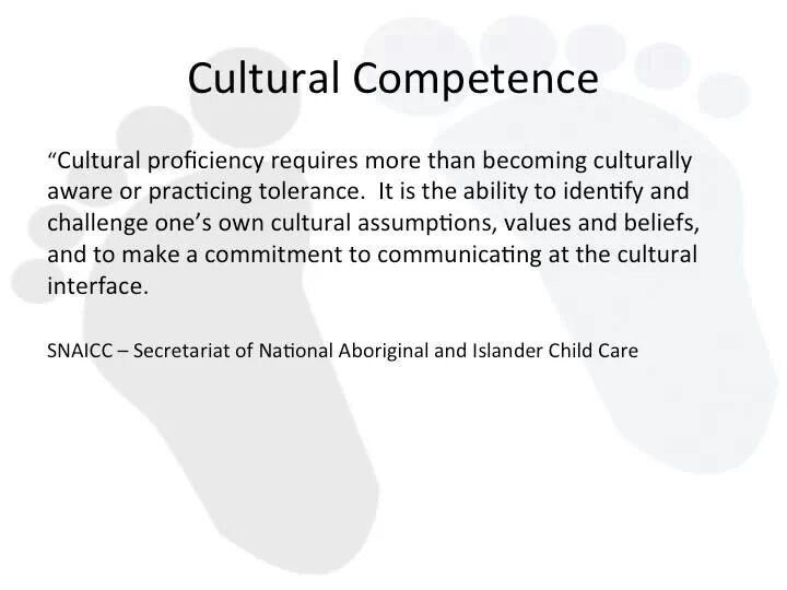 An examination of the influence of the concept of cultural competence and intercultural communicatio