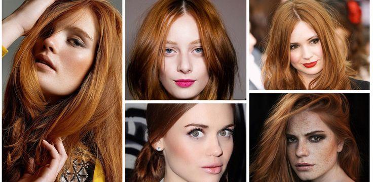 Trucco per rosse: 15 idee perfette per le donne dai capelli ginger!