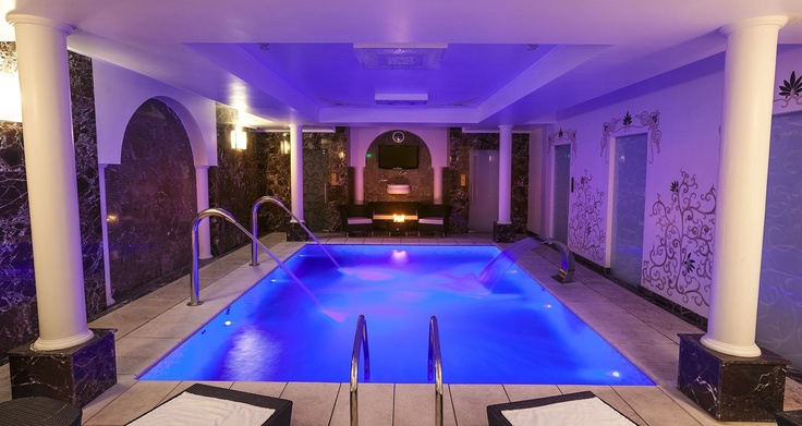Deep blue serenity at the Epoque SPA indoor heated pool