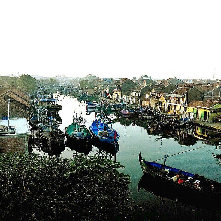 River side, Jepara, Central Java