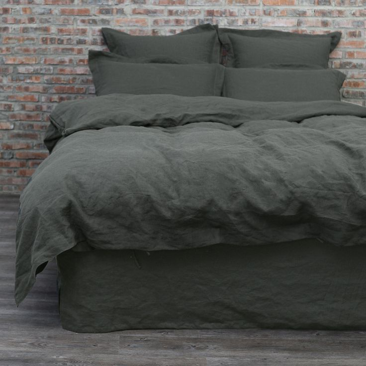Nothing could beat the heavenly look and soft feeling of our Pure Linen Duvet Cover. At once beautiful and strong, European linen provides a tactile sensation like no other fabric. Those same natural