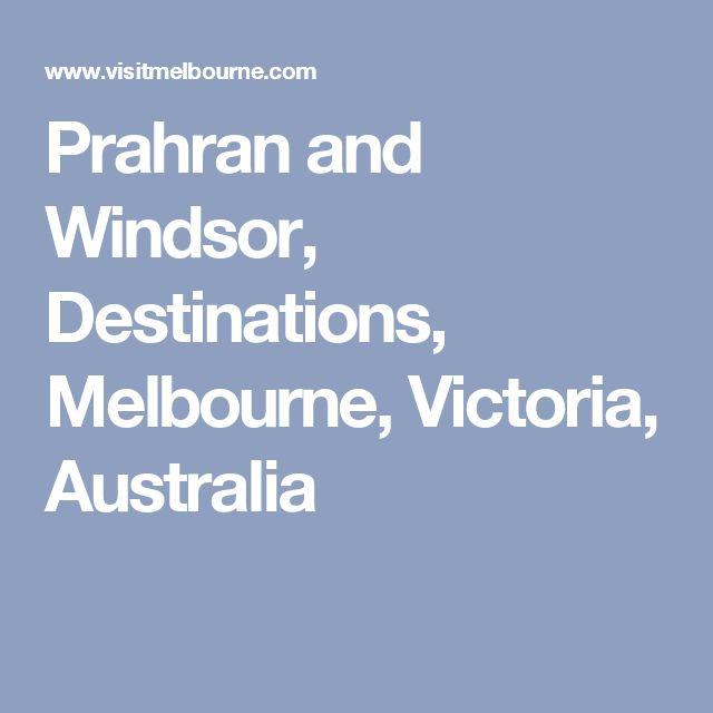 Prahran and Windsor, Destinations, Melbourne, Victoria, Australia