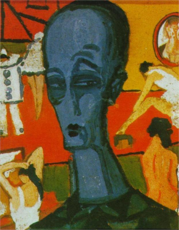 Saltimbanques, 1920-1921, Salvador Dali - Surrealism