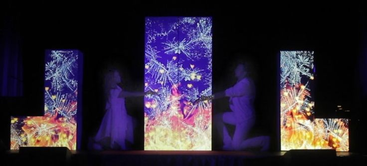 Свадебное 3D mapping шоу / #mapping #show for a #wedding by #DreamLaser #dance