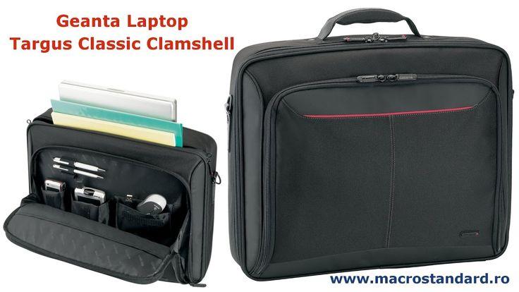 Prezentare Geanta Laptop Targus Classic Clamshell