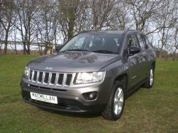 Used 2012 (12 reg) Grey Jeep Compass SPORT 2WD for sale on RAC Cars