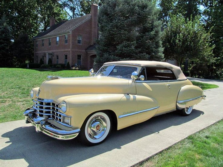 1947 Cadillac Series 62 Convertible...Re-pin brought to you by agents of #Carinsurance at #HouseofInsurance in Eugene, Oregon