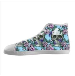 Skulls And Roses Ladies High Tops
