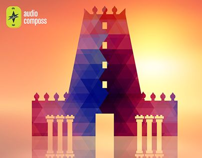 """Check out new work on my @Behance portfolio: """"AudioCompass_Temple Monument"""" http://be.net/gallery/33906448/AudioCompass_Temple-Monument"""