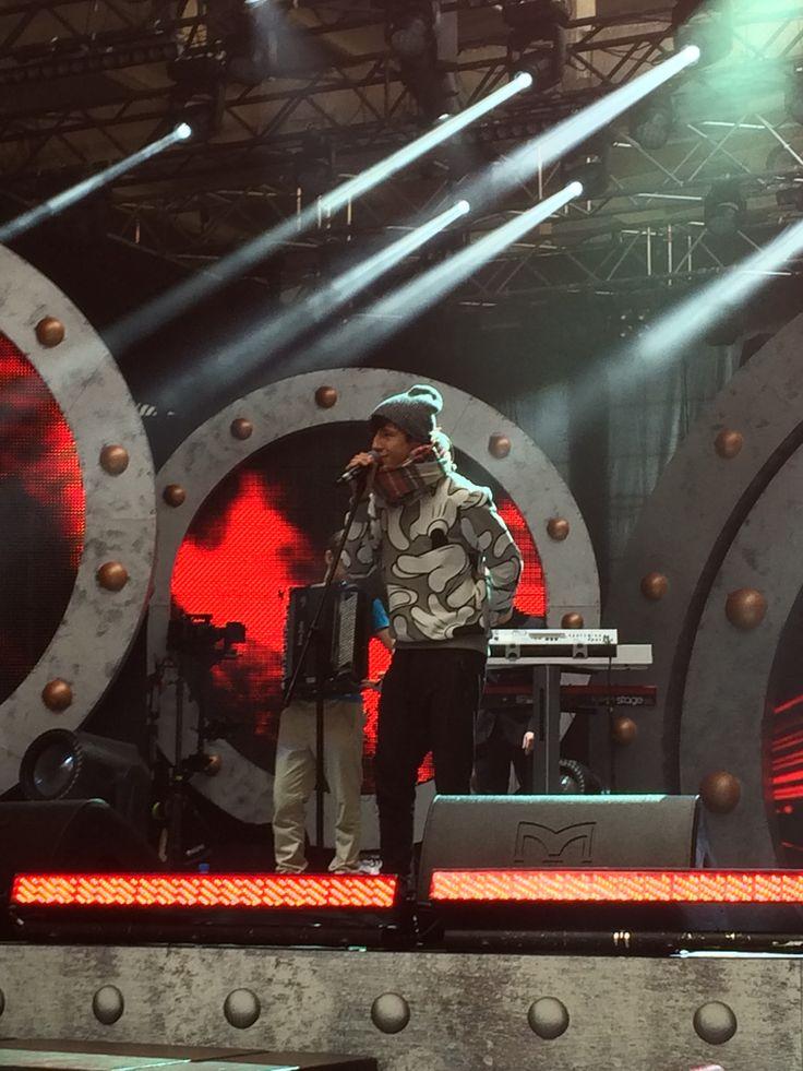 Dawid Kwiatkowski na próbie przed MTV EMA Pre Party - to już dziś (Soho Factory, Warszawa, wejście od 19:30).
