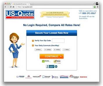 US-Quote.com screenshot