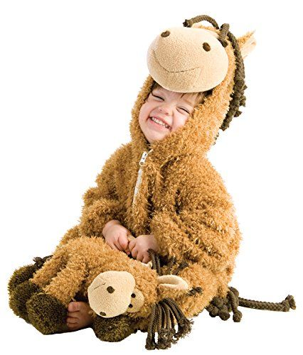 UHC Happy Horse Jumpsuit Furry Animal Theme Toddler Halloween Costume, 12-18M * You can get more details at