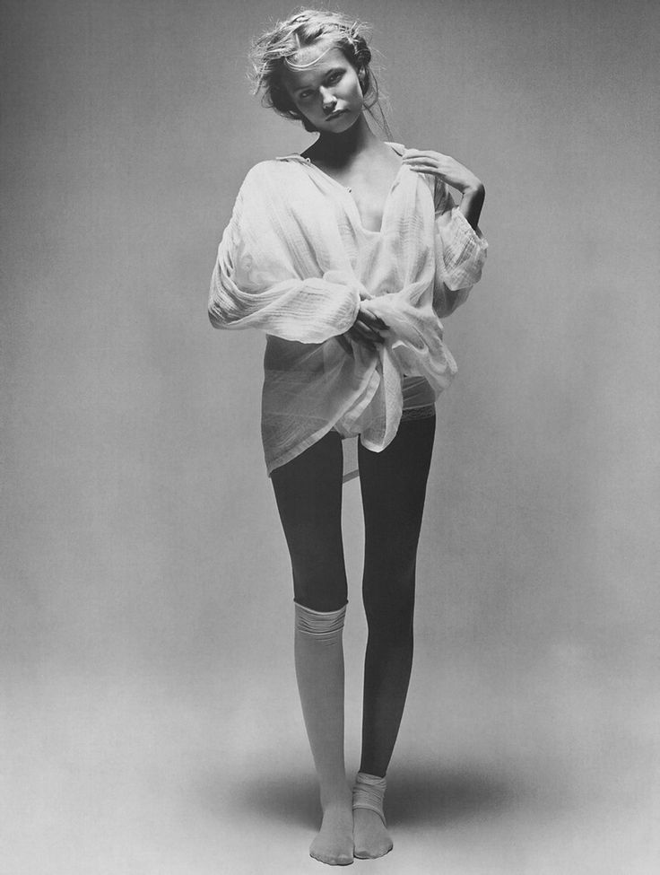 "victoriassecretangelsss: "" Natasha Poly by Patrick Demarchelier in Morning Beauty, Vogue Paris February 2005 """