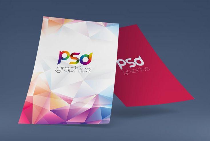 A4 Poster Mockup Free PSD | PSD Graphics