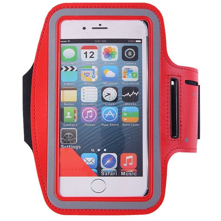 1Pack Sports Armband with Key Holder,ibarbe Running Jogging Exercise Gym Biking Walking Water resitant Arm Band for iPhone 6,6S,5,5S,5C,iPods, Galaxy S6/S7 edge LG G Vista 2 HTC Desire 82 more -- Hurry! Check out this great sales : 99 cent sports and outdoors