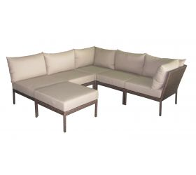 The 'Tango' modular outdoor couch range, allows you to mix and match to create a sofa setting that fits perfectly in your outdoor space. All pieces are sold individually and simply clip together so you can configure your ideal outdoor (or indoor) suite. A matching daybed is also available.