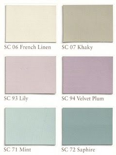 shabby chic color palette - Google Search