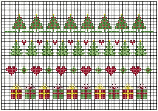 NATALE /greche - CHRISTMAS borders-NOEL grecques - Blog di Gloria