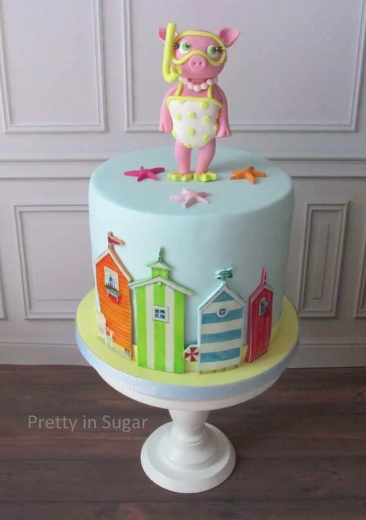 When a private jocke becomes a cake... #beachbabe